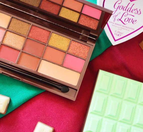 """Apžvalga: """"I Heart Makeup"""" šešėlių paletės """"Rose Gold"""" ir """"Mint Chocolate"""""""