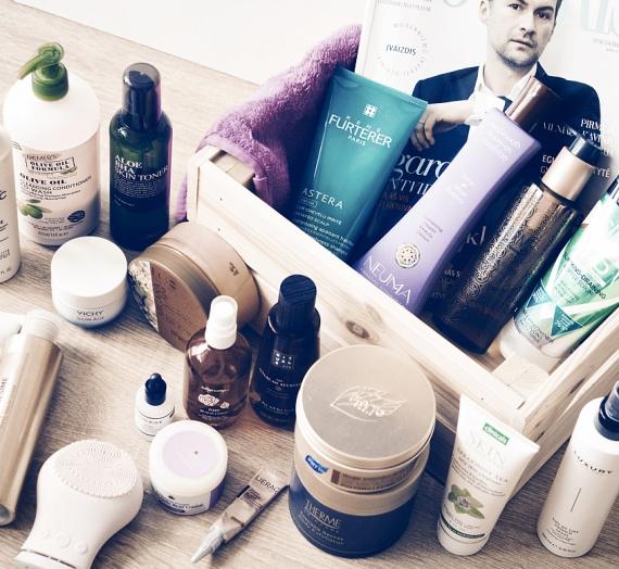 Mėgstamiausi 2018 pirmo ketvirčio veido, plaukų ir kūno priežiūros produktai
