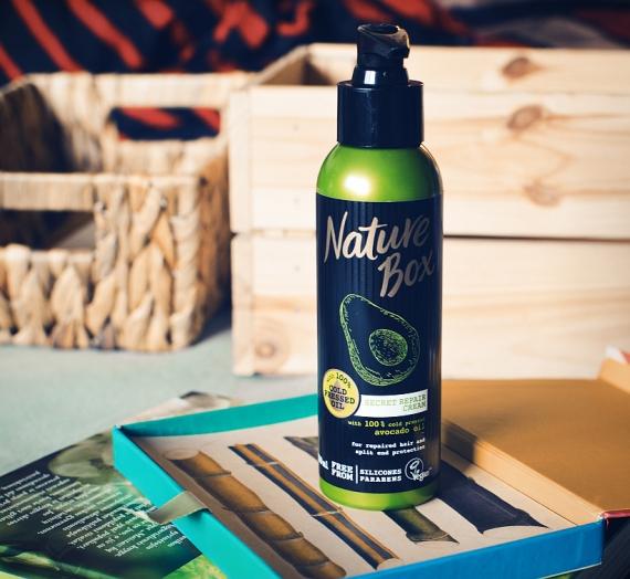 """Apžvalga: """"Nature Box"""" plaukų kremas """"Avocado"""""""