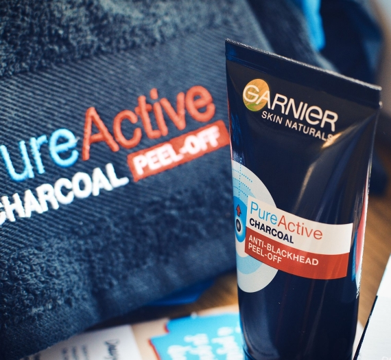 """Apžvalga: """"Garnier"""" nulupama kaukė nuo inkštirų """"Skin Naturals Pure Active Peel-Off"""""""