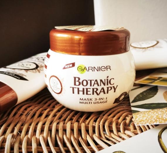 """Apžvalga: """"Garnier"""" maitinamoji plaukų kaukė """"Botanic Therapy Coco Milk & Macadamia"""""""
