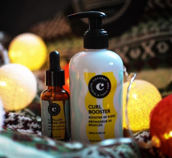 """Atsiliepimas: """"Cocunat"""" priemonės garbanotiems plaukams: kremas ir serumas"""
