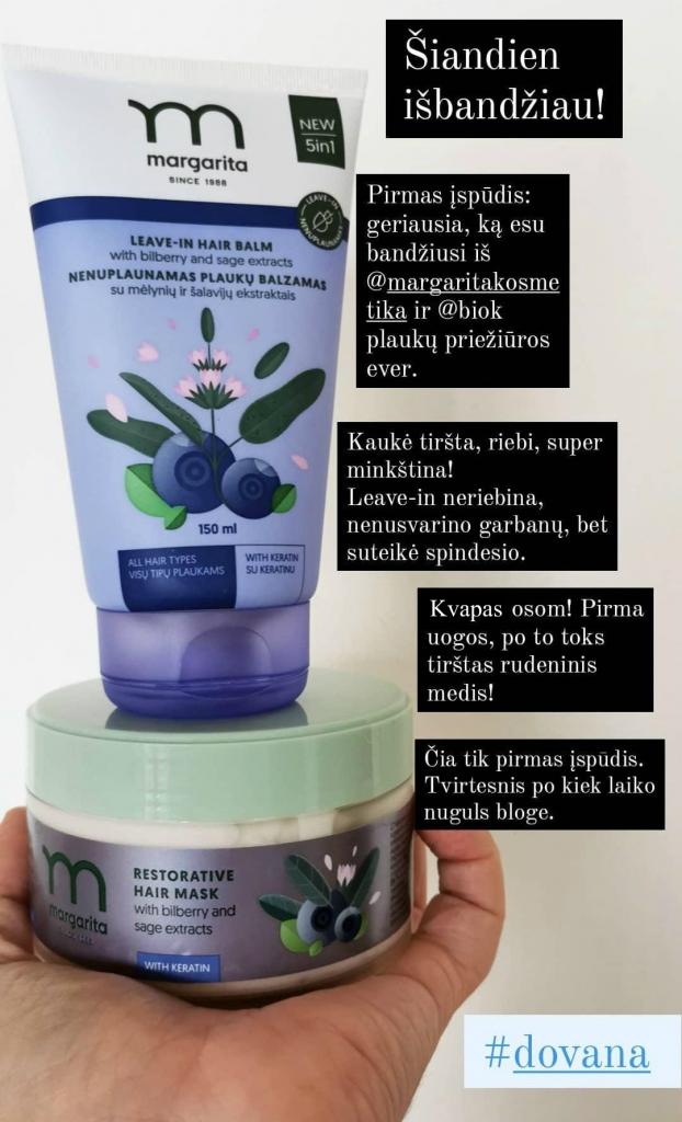 Margarita plaukų produktai