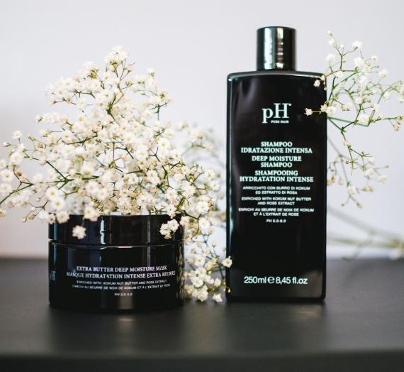 """Atsiliepimas: """"pH Laboratories"""" giliai drėkinantis šampūnas ir kaukė"""